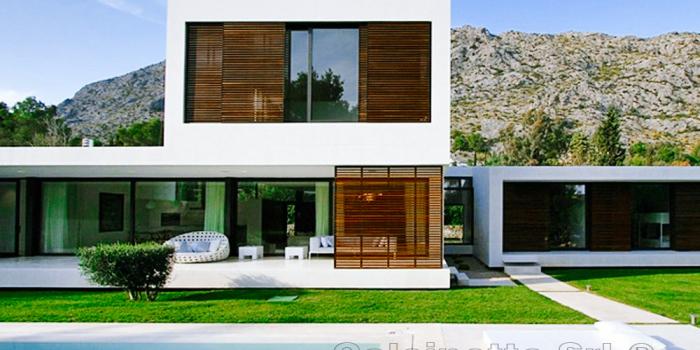 Home calcinotto costruzioni srl - Villa moderna con piscina ...
